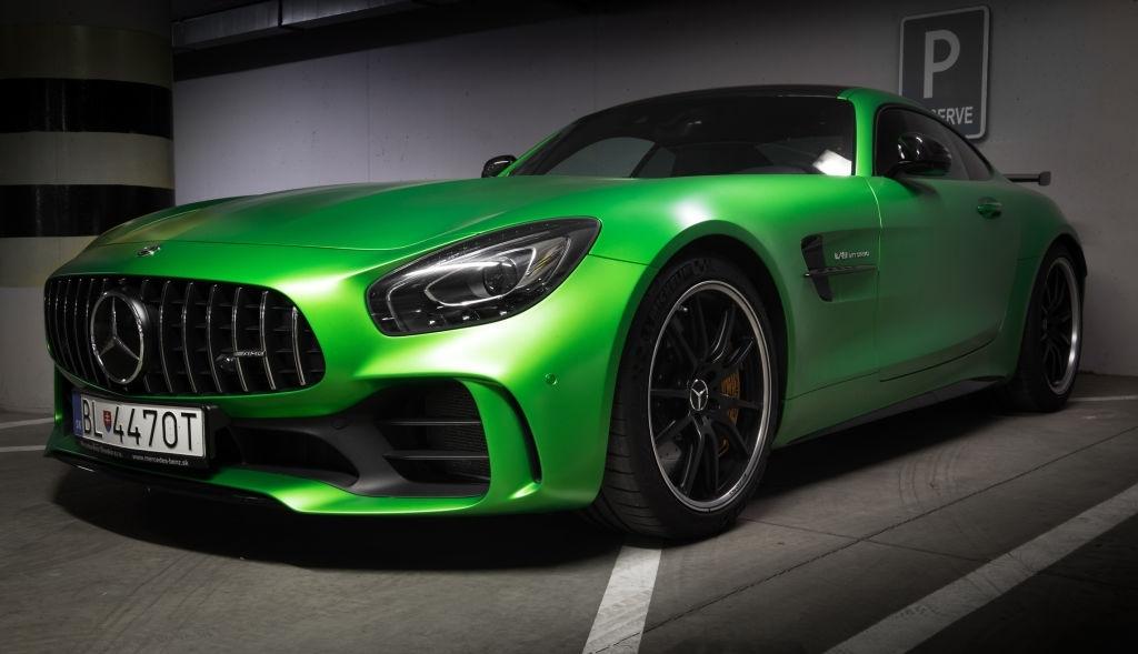 2020 Mercedes AMG GT Coupe Motor Özellikleri