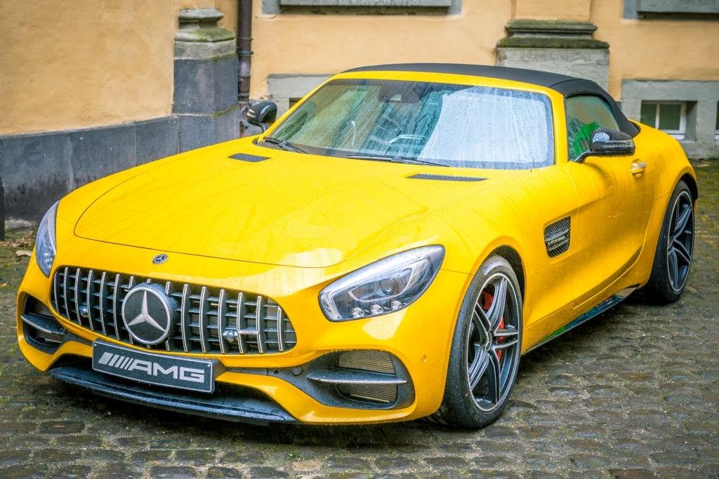 2020 Mercedes AMG GT Roadster Motor Özellikleri
