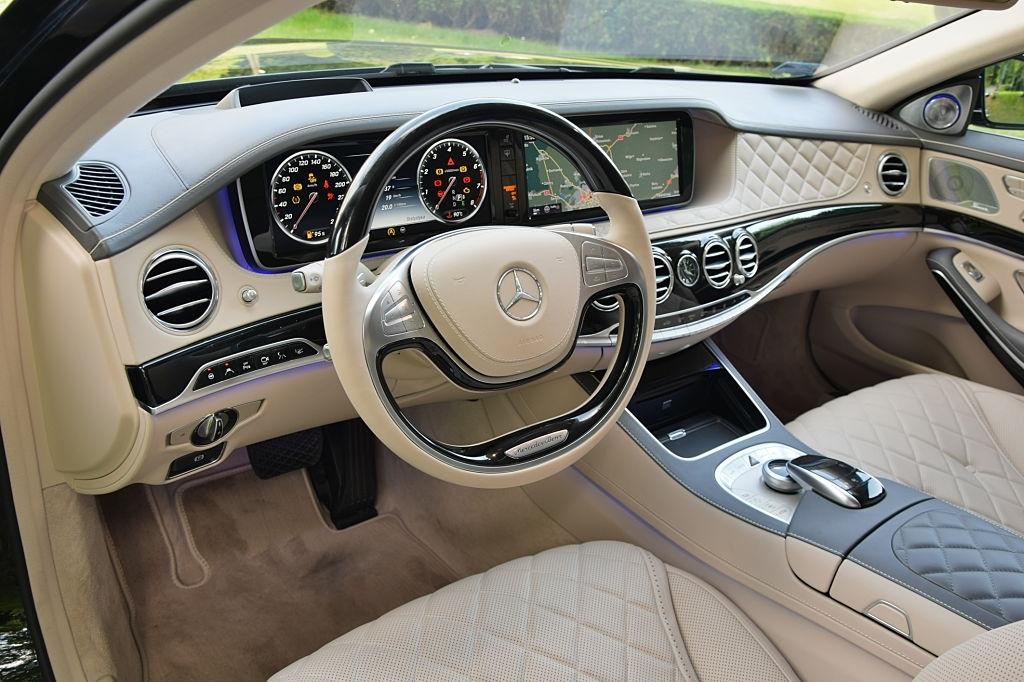 2020 Mercedes Maybach S Sedan İç Özellikleri