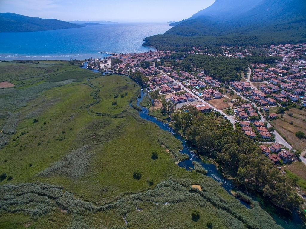 Photo of Muğla Akyaka Azmak Nehri Tatilcilerin Göz Bebeği