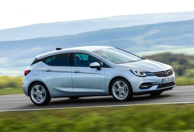 2021 Opel Astra Hatchback Dış Özellikleri