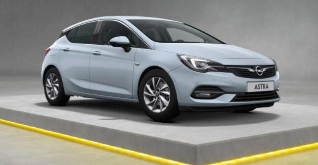 2021 Opel Astra Hatchback Satış Fiyatı